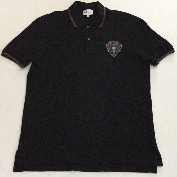 f4fcdc83e32 Gucci Other - Gucci Equestrian Mens crest polo Black Sz XL
